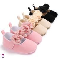 ♦ ♦ 1 Pasang Sepatu Bayi Perempuan Usia 0-1 Tahun untuk Belajar