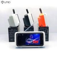 Retro Mini Bluetooth Speaker TV Design Mobile Phone Stand Holder