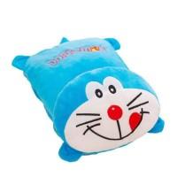 Balmut/bantal selimut lucu motif doraemon dan hello kitty ukuran