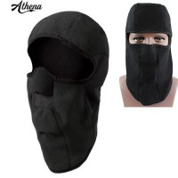 Masker Full Face Balaclava Thermal Bahan Fleece Untuk Musim Dingi