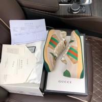 Sneakers Sepatu Gucci Green Pria Branded Asli Import Mirror Original
