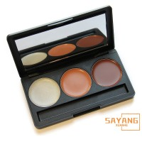 Professional makeup 3 Colors Face Contour Palette Face Cream