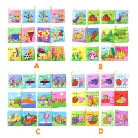 Baby Early Education Cloth Books Activity Book
