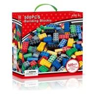 Toys Mainan Anak Lego Balok Brick Building Block 500 pcs