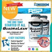 New Suplemen Fitness RSP Quadralean Quadra lean 150caps Fat Burner CLA