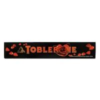 TOBLERONE Dark Chocolate Honey Almond 100g - Cokelat Tobleron Hitam