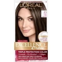 L'Oreal Paris Excellence Creme Permanent Hair Color, 4A Dark Ash Brown