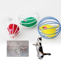 Pet Cat Lovely Kitten Gift Funny Play Toys Mouse Ball Brand New