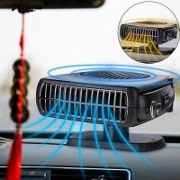 2 In 1 12 V 150 W Aksesoris Mobil Heater Cooling Fan Kaca Depan D