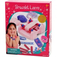 Mainan Anak perempuan Cewek Alat Tenun PLAYGO BRACELET LOOM
