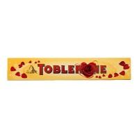 TOBLERONE Milk Chocolate Honey Almond 100g - Cokelat Tobleron Kuning