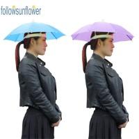 Payung Kepala Anti Hujan / Matahari untuk Dewasa