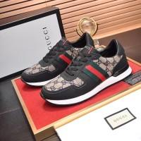 Sneakers Sepatu Gucci Black Pria Branded Asli Import Mirror Original