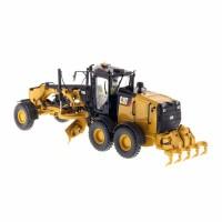 CAT Mainan Diecast Truk Muatan 12M3 Motor Grade Skala 1:87