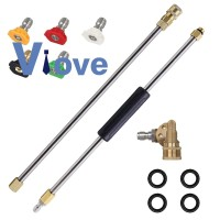 Pressure Extension Spray Wand Power Washer Accessories Set