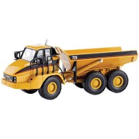 Miniatur Die-Cast Truk Catterpilar CAT 725 Tipe 55073 Skala 1/50