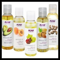 Hot Sale Now Foods Solution Grapeseed Almond Castor Jojoba Apricot Oil
