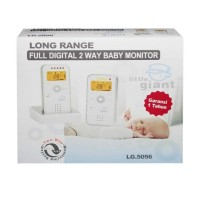 Ready Stock Little Giant - Digital 2 Way Baby Monitor Promo