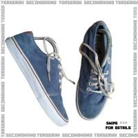 Sepatu Sneakers Vans Chuka Low Blue