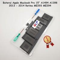 """Baterai Apple Macbook Pro Retina 15"""" A1494 A1398"""