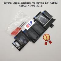 """Baterai Apple Macbook Pro Retina 13"""" A1582 A1502 A1493 2013"""