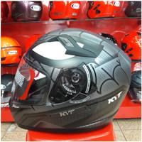 Helm KYT K2 Rider Motif Spider Doff Grey K 2 Rider Marvel Seri 1Helm K