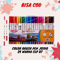 Color Brush Pen Joyko 24 Warna CLP 07 Harga Grosir ATK Terdekat 2020