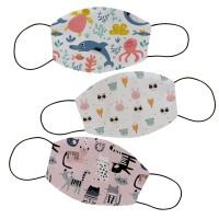 Masker kain filter non medis lucu anak dan dewasa- Animal 4