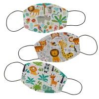 Masker kain filter non medis lucu anak dan dewasa- Animal 3