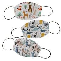 Masker kain filter non medis lucu anak dan dewasa- Animal 2