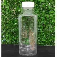 Botol Plastik Kick Juice 250 ml / Botol Kale Kotak