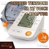 OneMed TensiOne 1A w/ Voice Adaptor Tensimeter Tensi One Tekanan Darah