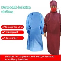 disposable gown 60-100 GSM / baju disposable / APD READY