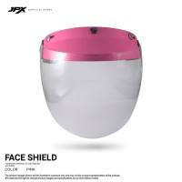 Face Shield/ Kaca APD - Pink Rose