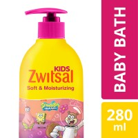 Zwitsal Kids Baby Soft And Moisturizing Pink 280Ml