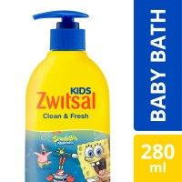 Zwitsal Kids Bubble Bath Blue Clean & Fresh 280Ml