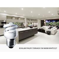 BOHLAM PHILIPS TORNADO 5W WARM WHITE E27