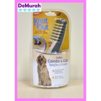 0407 Knot Out Pet Grooming Sisir Pet Elektrik Untuk Bulu Kusut