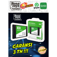 SSD WD GREEN 3D NAND 240 GB ATAU 120 GB garansi 3th