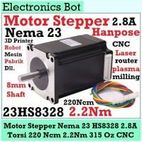 Motor Stepper Nema 23 57 Hanpose 220 Ncm 2.2 Nm CNC 3D Printer 315 Oz