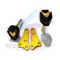 Frame Slider Pelindung Body Fairing R25 MT25 Merk Black Diamond