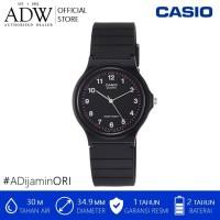 Casio Classic Analog Quartz Black Resin MQ-24-1BLDF