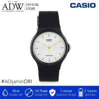 Jam Tangan / Casio Unisex Analog Resin Watch MQ-24-7E2LDF
