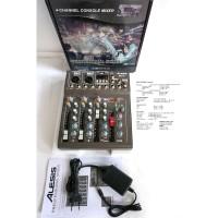 mixer audio alesis best4 - best 4 - 4ch usb-mp3-bluetooth