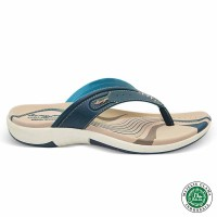 Homyped Ashley N31 Biru Sandal Flat Wanita