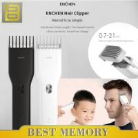 Xiaomi Enchen Boost Alat Cukur Elektrik Hair Clipper Ceramic Trimmer - Putih