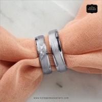 Cincin Kawin/Tunangan Emas Putih EP0026