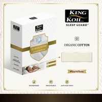 King Koil Mattress Protector Sleep Guard Organic Cotton