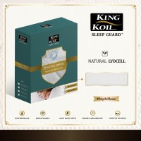 King Koil Mattress Protector Sleep Guard Natural Lyocell (120x200)