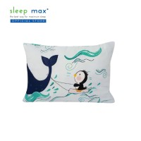 Sleep Max Small Pillow/Bantal Balita Motif 35x50 Cm-Motif Dolphin